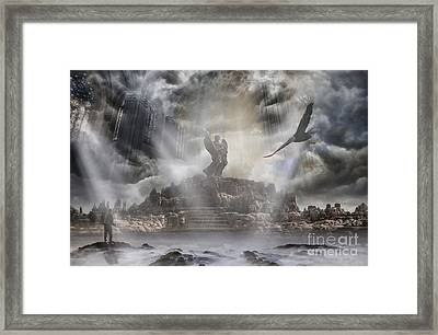 The Arrival Framed Print by Keith Kapple