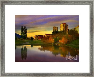 The Arrival Of Autumn Framed Print by Tara Turner
