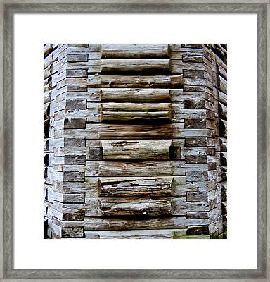 The Art Of Wood 2 Framed Print by Randall Weidner