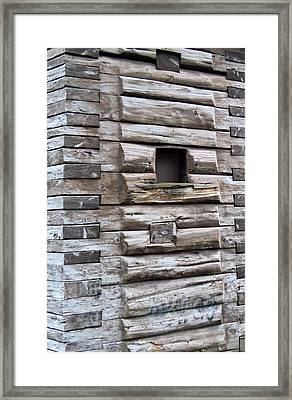 The Art Of Wood 3 Framed Print by Randall Weidner