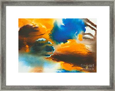 The Atoll Framed Print by Phil Albone