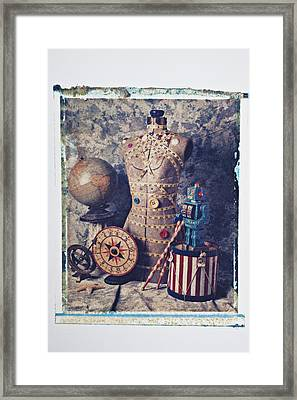 The Attic Framed Print by Garry Gay