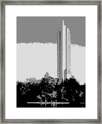 The Austonian Bw3 Framed Print by Scott Kelley