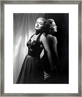 The Bad And The Beautiful, Lana Turner Framed Print by Everett