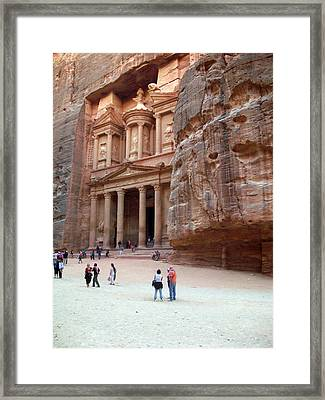 The Bank Framed Print by Munir Alawi