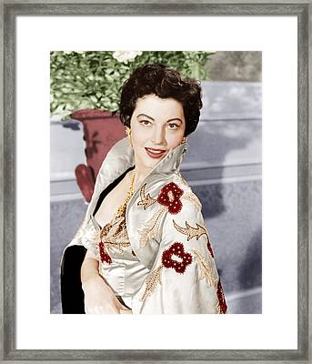The Barefoot Contessa, Ava Gardner, 1954 Framed Print by Everett