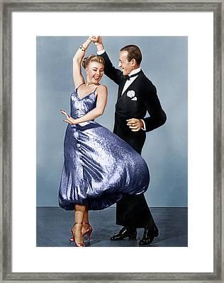 The Barkleys Of Broadway, From Left Framed Print by Everett