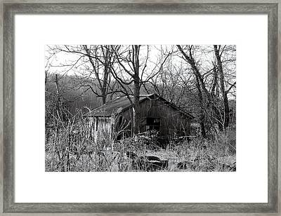The Barn Framed Print by Felix Concepcion
