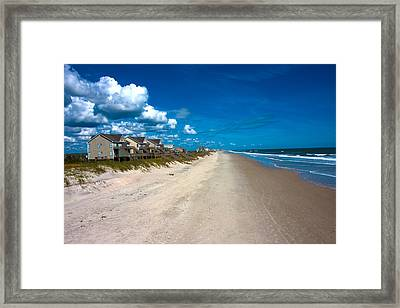 The Beach Is Yours Framed Print by Betsy C Knapp