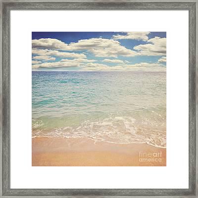 The Beach Framed Print by Lyn Randle