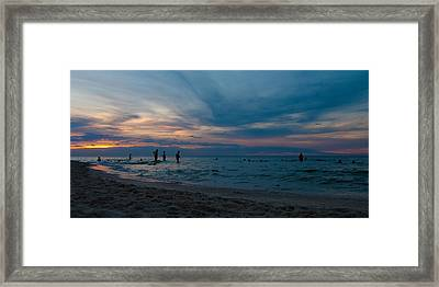 The Beach Framed Print by Tim Nichols
