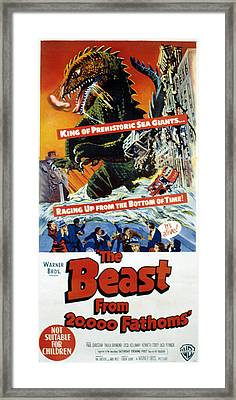 The Beast From 20,000 Fathoms, The, 1953 Framed Print by Everett