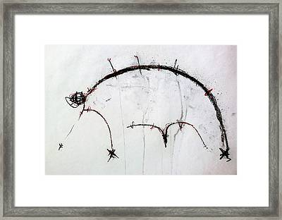 The Beasts 2 Framed Print by Mark M  Mellon