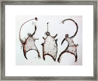 The Beasts 3 Framed Print by Mark M  Mellon