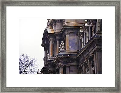 The Beauty Of Philadelphia City Hall Framed Print by Bill Cannon