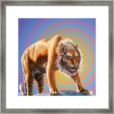 The Beginning Framed Print by David Starr