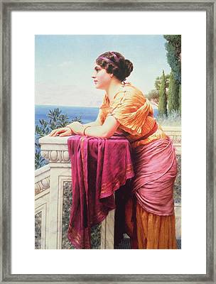 The Belvedere Framed Print by John William Godward
