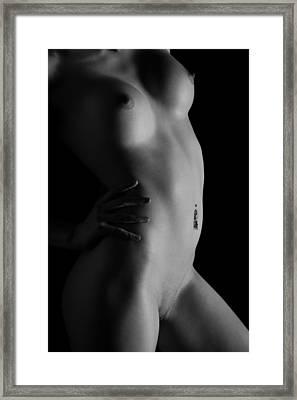 The Bend Framed Print by Stuart Thomson