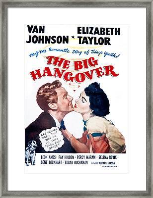 The Big Hangover, Van Johnson Framed Print by Everett