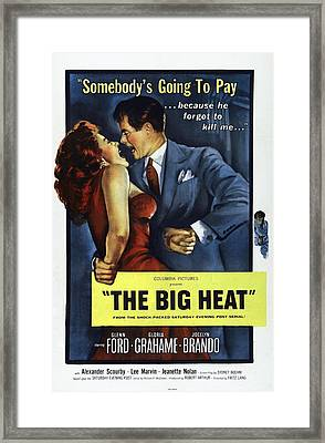 The Big Heat, Gloria Grahame, Glenn Framed Print by Everett