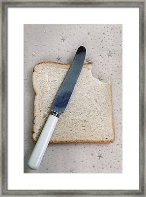 The Bite Framed Print by Joana Kruse