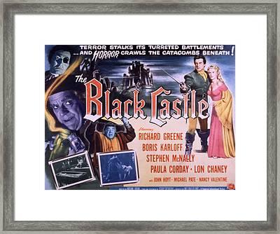 The Black Castle, Boris Karloff, Lon Framed Print by Everett