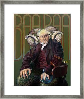 The Black Sheep Framed Print by Patrick Anthony Pierson