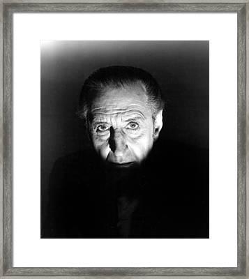 The Black Sleep, Basil Rathbone, 1956 Framed Print by Everett