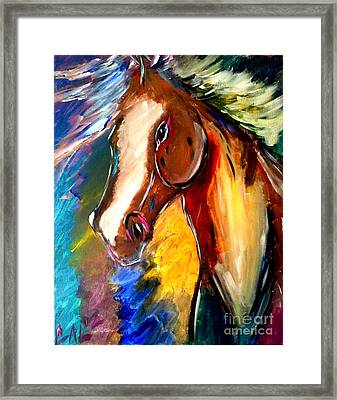 The Blazer Framed Print by J Von Ryan