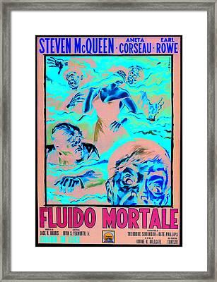 The Blob, Italian Poster Art, 1958 Framed Print by Everett