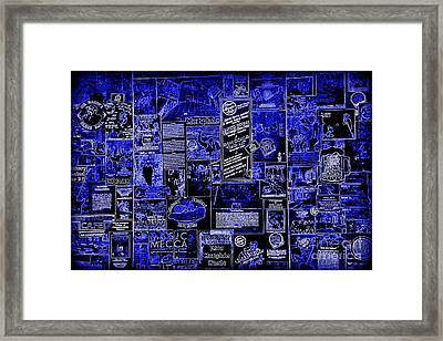 The Blues In Memphis Framed Print by Carol Groenen