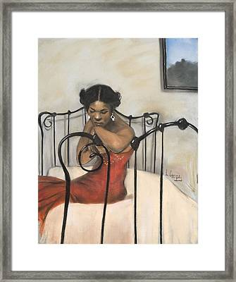 The Blues Framed Print by L Cooper