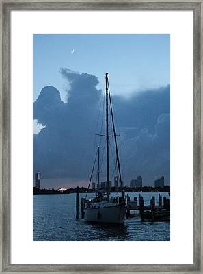 The Boat Framed Print by Lorenzo Muriedas