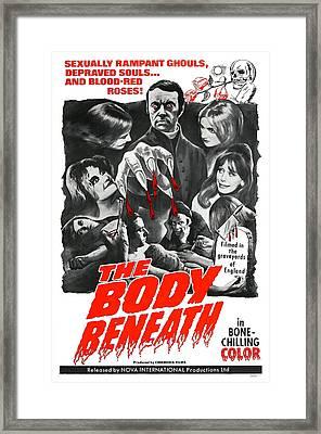 The Body Beneath, Center Top Gavin Reed Framed Print by Everett