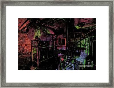 The Boiler Room Framed Print by Keith Kapple