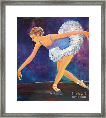 The Bow Framed Print by Deb Magelssen