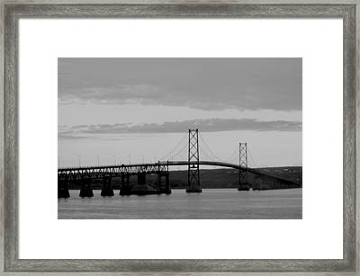 The Bridge Framed Print by Sophie  Bouchard