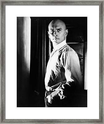 The Brothers Karamazov, Yul Brynner Framed Print by Everett