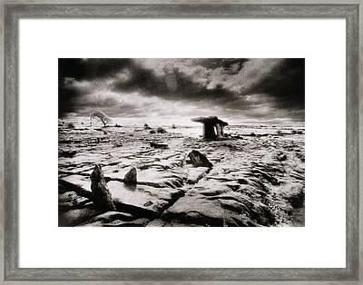 The Burren Framed Print by Simon Marsden