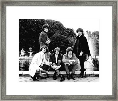The Byrds 1965 Framed Print by Chris Walter