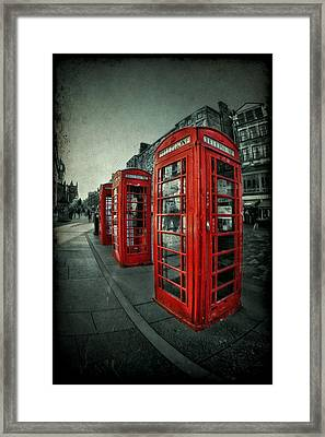 The Call Of Yesteryear Framed Print by Evelina Kremsdorf