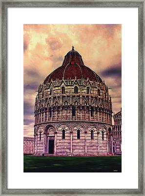 the Campo dei Miracoli - Italy Framed Print by Tom Prendergast