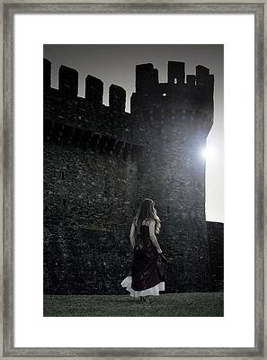 The Castle Framed Print by Joana Kruse