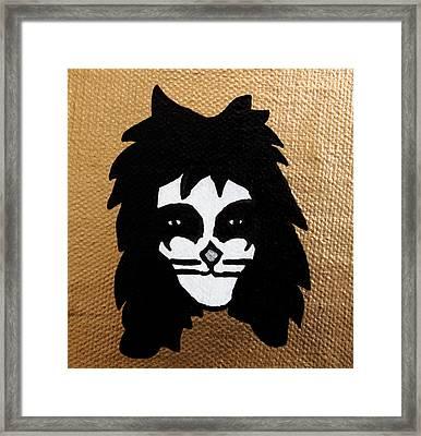 The Catman Framed Print by Jera Sky