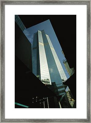 The Centre, A 1135 Foot, 73 Story Framed Print by Justin Guariglia