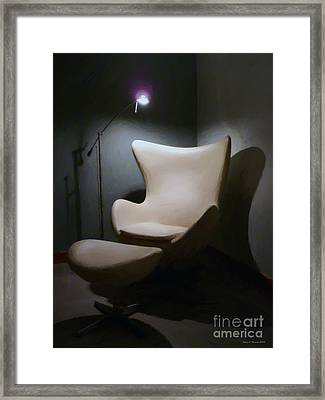 The Chair Framed Print by Jerry L Barrett