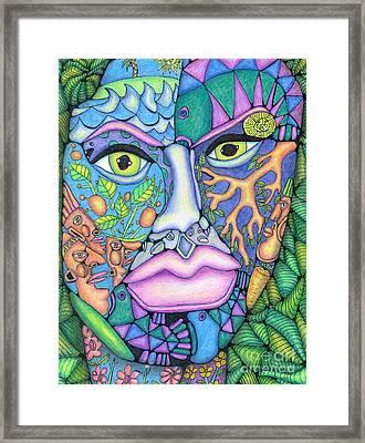 The Chameleon Framed Print by David Craig