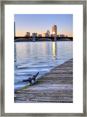 The Charles  Framed Print by JC Findley