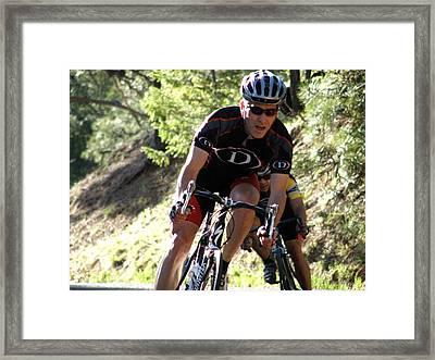 The Chase Framed Print by Feva  Fotos