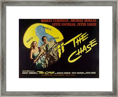 The Chase, Michele Morgan, Peter Lorre Framed Print by Everett